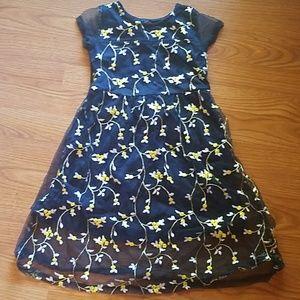 Kids flowery dress